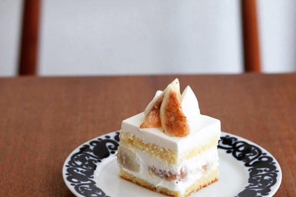 いちじくのショートケーキ