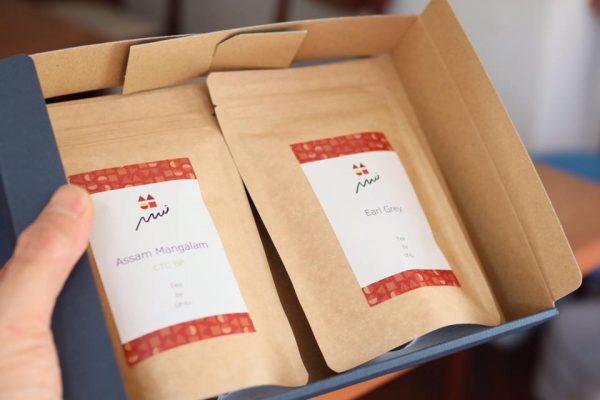 『Uf-fu(ウーフ)』の茶葉もギフト発送できます