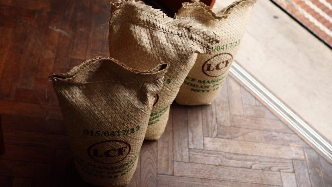インドネシア『LCFマンデリン』の新豆が入荷しました