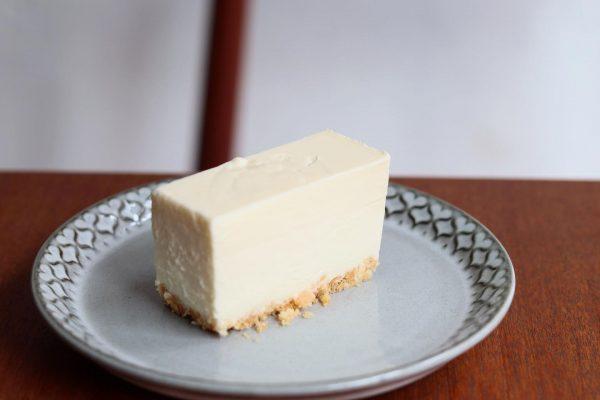 Muiの夏の定番「レアチーズケーキ」