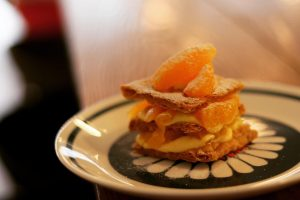 mui バレンシアオレンジのミルフイユ