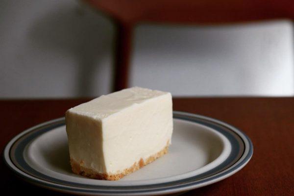 Muiの定番スイーツ「レアチーズケーキ」