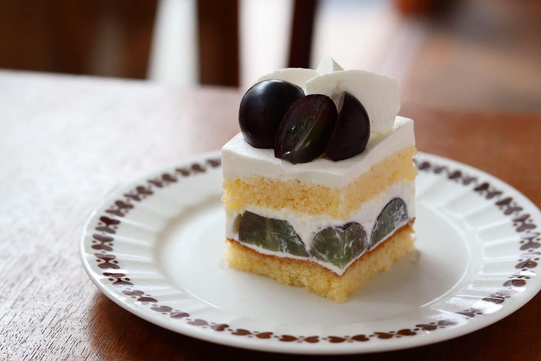 mui ナガノパープル ショートケーキ