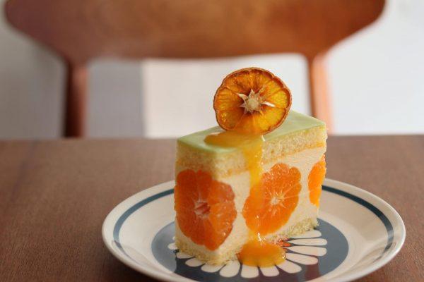 新登場!『かねよし農園』のみかんのケーキ