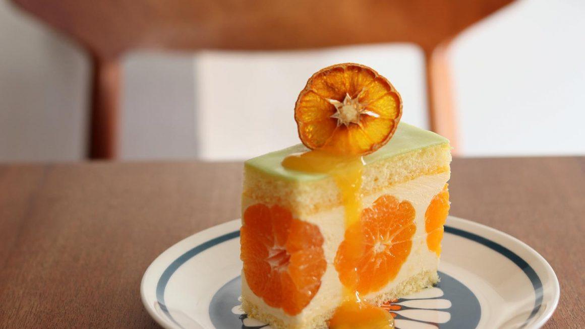 和歌山・田村『かねよし農園』のみかんのケーキ
