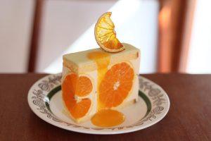 清見オレンジ ケーキ mui