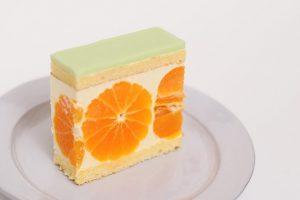 mui みかんのケーキ
