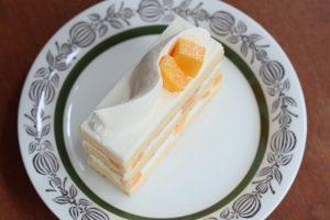 mui マンゴーのショートケーキ