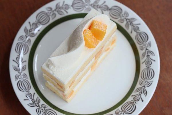 muiでも販売開始:マンゴーのショートケーキ