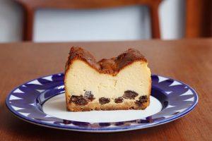 mui ラムレーズンのチーズケーキ