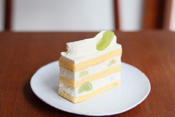 シャインマスカットのショートケーキ