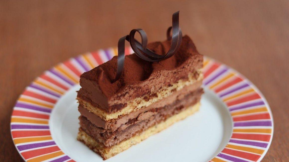 ウィーンのチョコレートケーキ:ハイナーハウストルテ