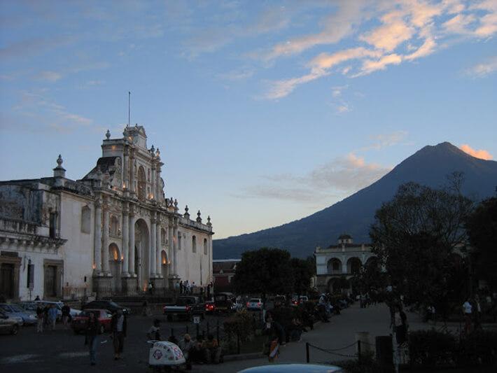 アンティグアの街